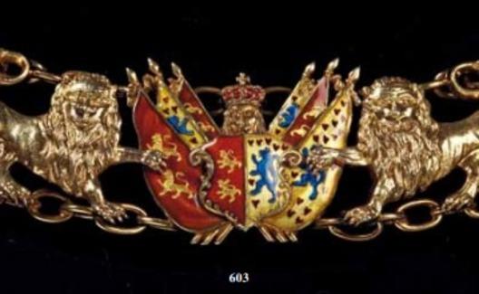 Dukely Order of Henry the Lion, Collar