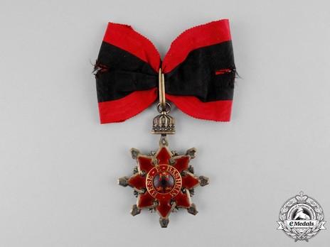 Order of the Black Eagle, Grand Officer's Cross Obverse