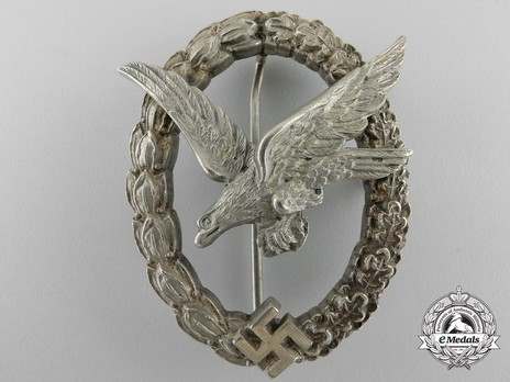 Air Gunner & Flight Engineer Badge, by Jmme (in tombac) Obverse