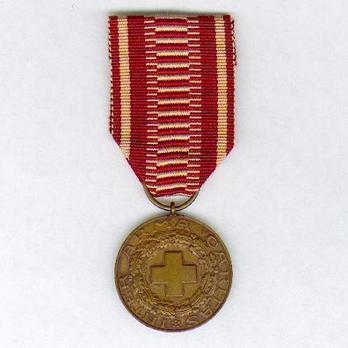 Cross of Merit of the Finnish Red Cross, Bronze Medal Obverse
