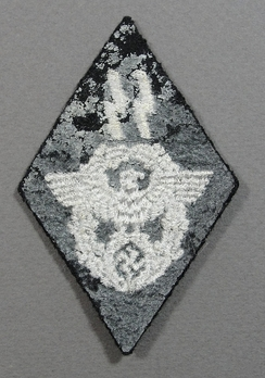 Waffen-SS Reich Main Security Office (SS & Police Matters) Trade Insignia Reverse