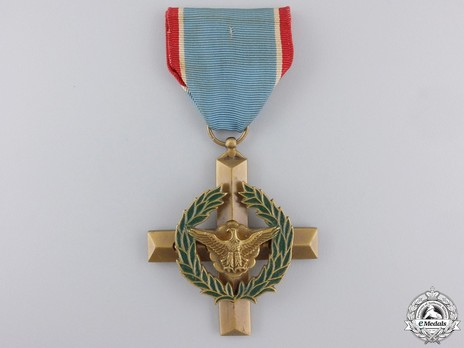 Air Force Cross Obverse with Ribbon