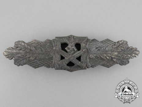 Close Combat Clasp, in Silver, by R. Souval Obverse