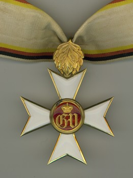 Military Merit Cross, I Class Cross for 25 Years (for Waldeck Officers, 1861-1896) Obverse