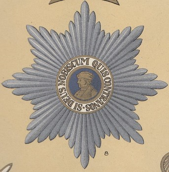 Type I, Grand Cross Breast Star (embroidered)