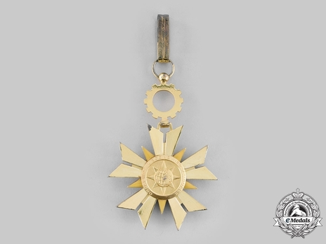 Order of National Economy, Commander Reverse