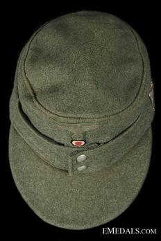 German Army NCO/EM's Mountain Cap Top