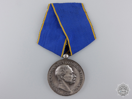 "Silver Merit Medal (stamped ""F. RASUMNY,"" 1927-) Obverse"