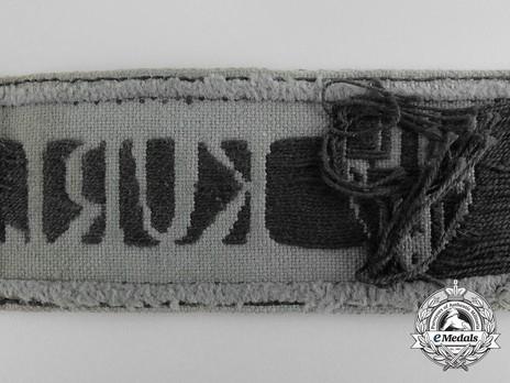 Kurland Cuff Title Reverse Detail