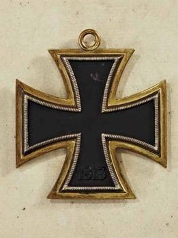 Grand Cross of the Iron Cross (by Juncker, golden frame) Reverse