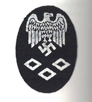 Kriegsmarine Officials' High Career Dental Service Insignia Obverse