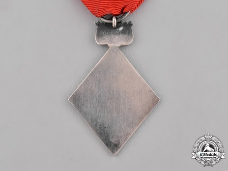Breast Badge (with St. George Cross) Reverse