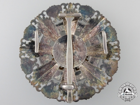 I Class Grand Cordon Breast Star Reverse
