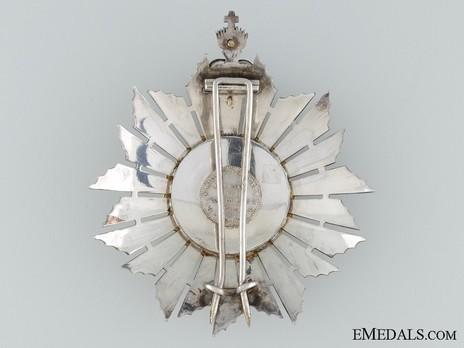 Grand Cross Breast Star (Gold by Frederico Da Costa) Reverse