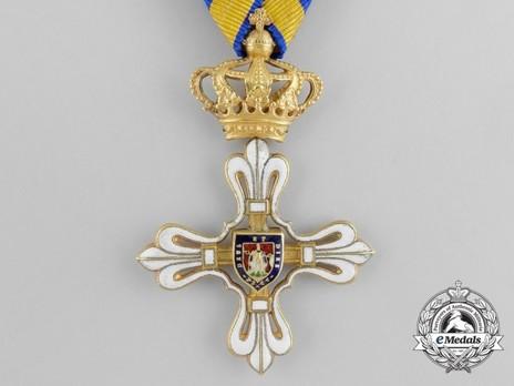 Civil Merit Order of St. Louis, I Class Knight Obverse