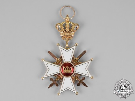 Grand Cross with Swords (in gold) Reverse