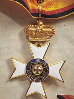 I Class Cross (in gold, 1896-1918)
