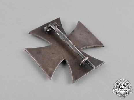 Iron Cross I Class, by Klein & Quenzer (65, Type A) Reverse