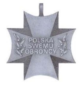 Silver Cross (with swords) Reverse