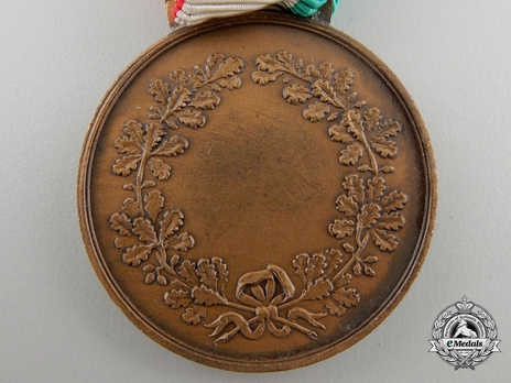 Medal of Civil Valour, in Bronze Reverse