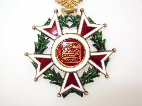 Order of the Brilliant Star of Zanzibar, Type VI, I Class Obverse