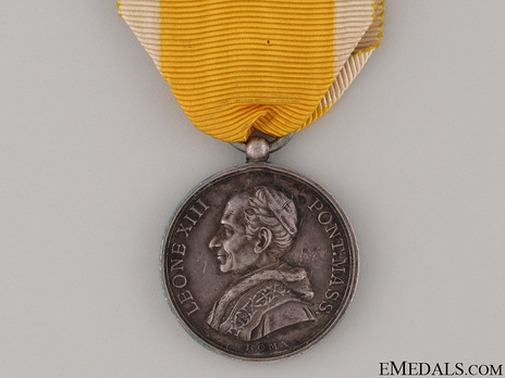 Bene Merenti Medal, Type IV, Small Silver Medal Obverse