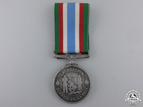 Canadian Peacekeeping Service Medal Obverse