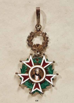Order of the Brilliant Star of Zanzibar, Type IV, I Class (with portrait)