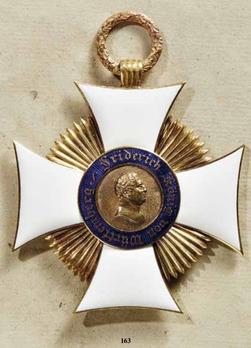 Friedrich Order, Type I, Cross
