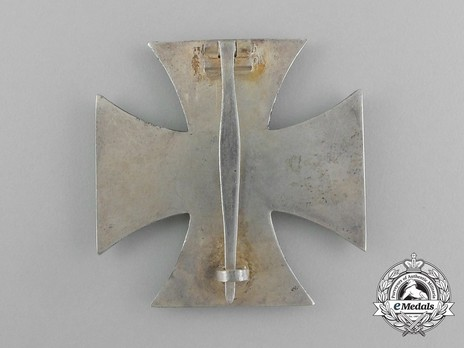 Iron Cross I Class, by Wächtler & Lange (unmarked, non-magnetic) Reverse