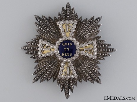 Royal Order of Merit of St. Michael, I Class Cross Breast Star (1860-1870) Obverse