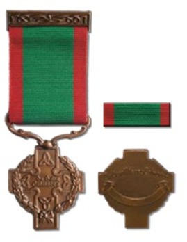Military Medal for Gallantry with Distinction Obverse and Reverse