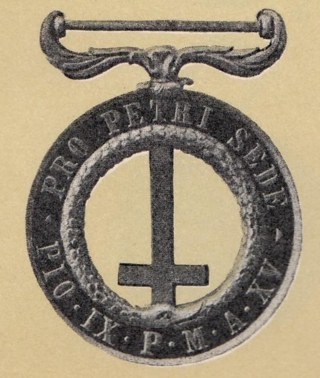 Vatican%2c+castelfidardo+medal%2c+1860+