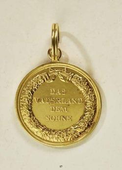 Civil Merit Medal, in Gold