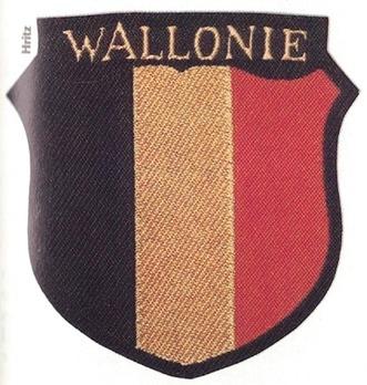 German Army Wallonia Sleeve Insignia Obverse