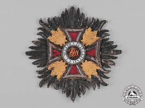 Order of Leopold, Type II, Grand Cross Breast Star (embroidered) Obverse