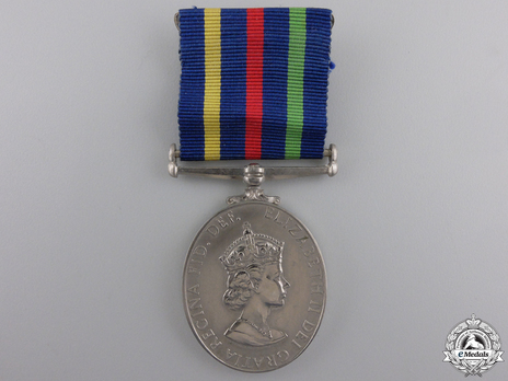 Silver Medal (for British recipients) Obverse