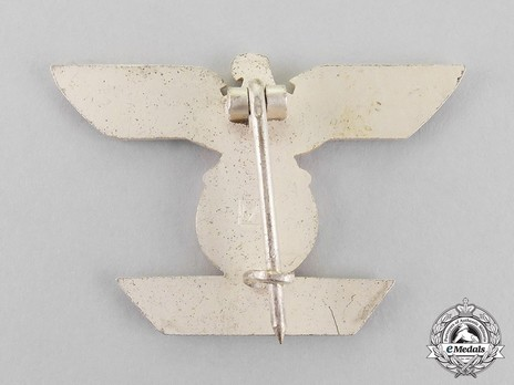 Clasp to the Iron Cross I Class, Type II, by W. Deumer (L/11) Reverse