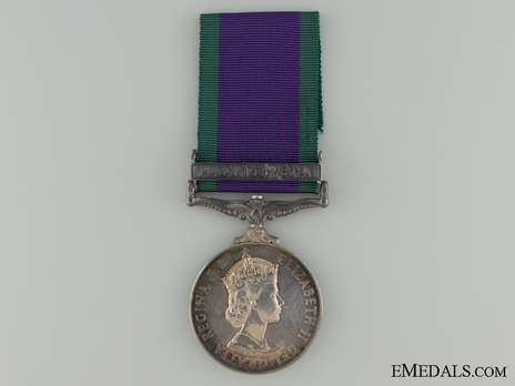 "Silver Medal (with ""MALAY PENINSULA"" clasp) Obverse"