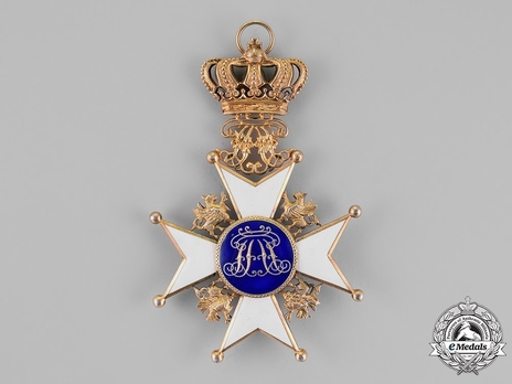 Civil Division, Grand Cross (with gold crown, in silver gilt)