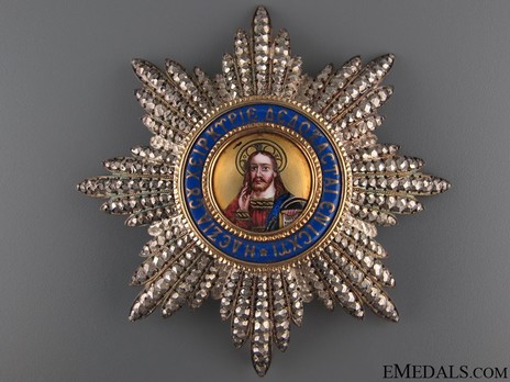 Order of the Redeemer, Type II, Grand Cross Breast Star Obverse