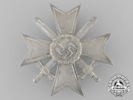 War Merit Cross I Class with Swords, by J. Bauer (43) Obverse