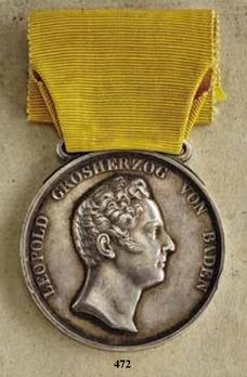 Civil Merit Medal in Silver, Type IV (1831-)