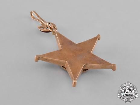 Order of Nishani-Shefkat, I Class Reverse