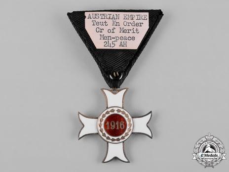 Order of the Knights of Malta, Small I Class Merit Cross Reverse