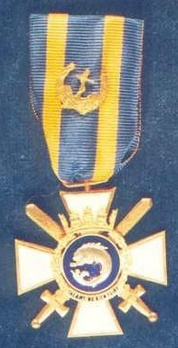 I Class Medal (with gold anchor in laurel wreath clasp) Obverse
