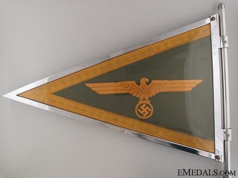 German Army General's Pennant Reverse
