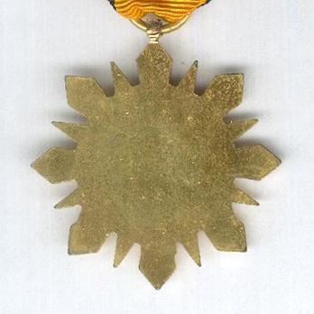 Syrian Arab Army Medal 1962 Reverse