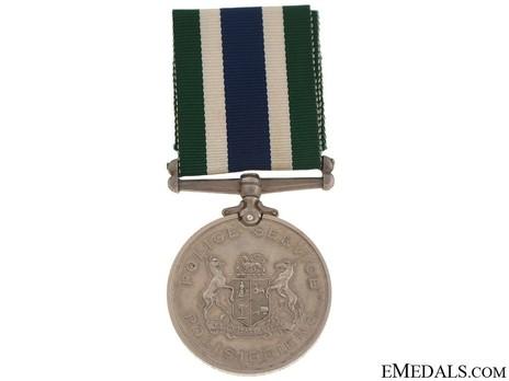Police Good Service Medal Obverse