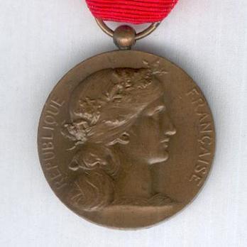 "Bronze Medal (Ministry of War, stamped ""E M LINDAUER"") Obverse"